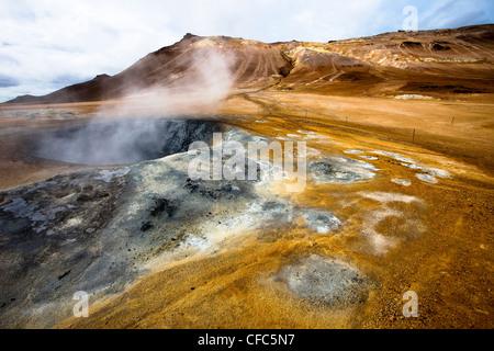 Namjafall Hevrir, Islande,