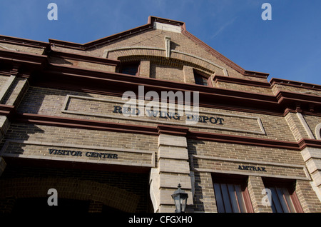 Red Wing Depot, Red Wing, Minnesota Banque D'Images