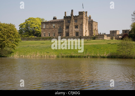 Ripley Castle, Yorkshire, Angleterre, Royaume-Uni, Europe Banque D'Images