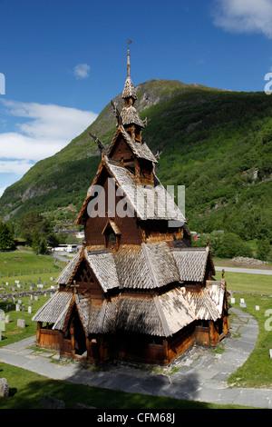 Église Borgund, Sogn og Fjordane, Norvège, Scandinavie, Europe