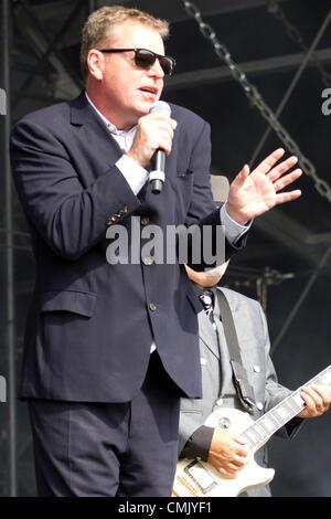 Madness effectue au V Festival à Chelmsford, 19 août 2012 à Chelmsford, Royaume-Uni Banque D'Images