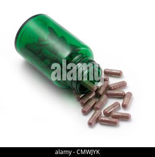 Ouvre bouteille de pilules Banque D'Images