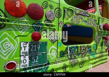 West Indies, Aruba, Party Bus Détail