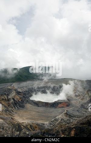 Cratère du volcan Poas, Poas Volcano National Park, Costa Rica