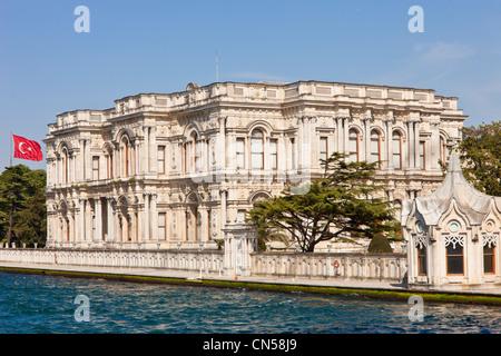 Turquie, Istanbul district de Beylerbeyi, le Palais de Beylerbeyi style néoclassique construite en 1865 pour le Banque D'Images