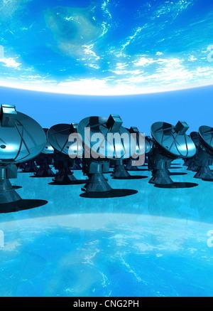 La gamme artwork Banque D'Images