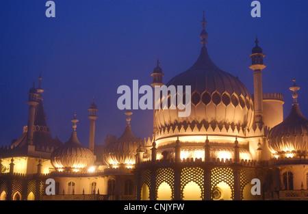 Royal Pavilion à Brighton, East Sussex, UK. Banque D'Images