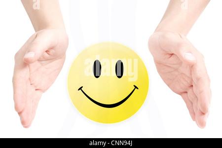 Smiley Banque D'Images