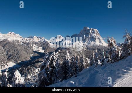 Rome, la province de Belluno, en Vénétie, Dolomites, Italie Banque D'Images