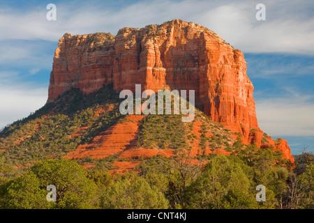 Les roches rouges de Sedona, Arizona, USA, Colorado-Plateau, Sedona