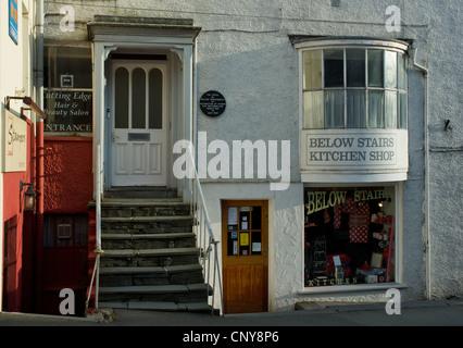 L'ancienne maison de timbres (où William Wordsworth a travaillé) dans la ville de Ambleside, Cumbria England UK