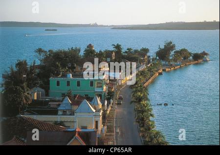 Cuba - Cienfuegos. Punta Gorda. Banque D'Images