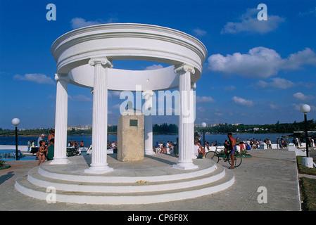 Cuba - La Havane (La Habana) - Cojimar. Le monument à Ernest Hemingway. Banque D'Images
