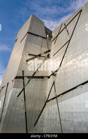 De l'extérieur le Musée Juif de Berlin, Allemagne Banque D'Images