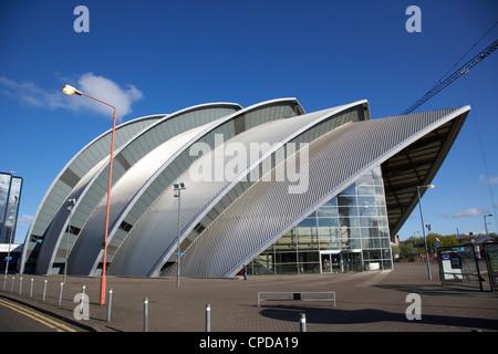 Le Clyde Auditorium au Scottish Exhibition and Conference Centre secc Glasgow Scotland UK Banque D'Images