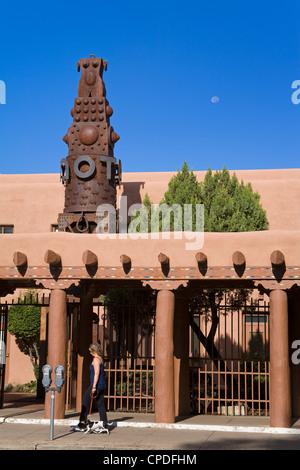 Musée d'Arts autochtones contemporains, Santa Fe, Nouveau Mexique, États-Unis d'Amérique, Amérique du Nord Banque D'Images