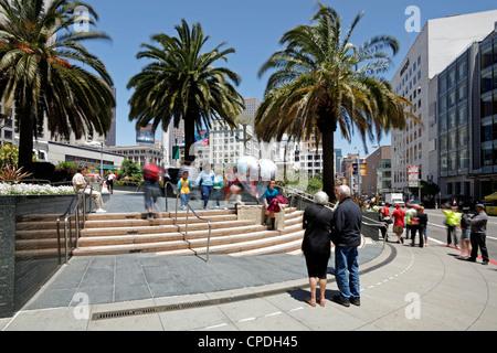 Union Square, le centre-ville, San Francisco, Californie, États-Unis d'Amérique, Amérique du Nord