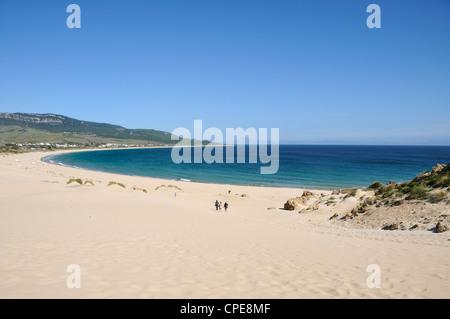 Plage de Bolonia, Tarifa, Province de Cadix, Costa de la Luz, Andalousie, Espagne