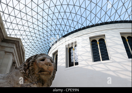 Grande cour, British Museum, Bloomsbury, Londres, Angleterre, Royaume-Uni, Europe Banque D'Images