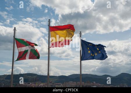Le Nord de l'espagne Bilbao Getxo Banque D'Images