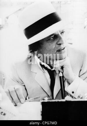 Kinski, Klaus, 18.10.1926 - 23.11.1991, acteur allemand, portrait, fin des années 1960, Banque D'Images