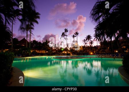 République dominicaine, Province de La Altagracia, Punta Cana, Playa Bavaro, Arena Blanca Hotel