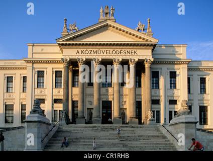 La Hongrie, au sud de la grande plaine, la ville de Szeged Banque D'Images