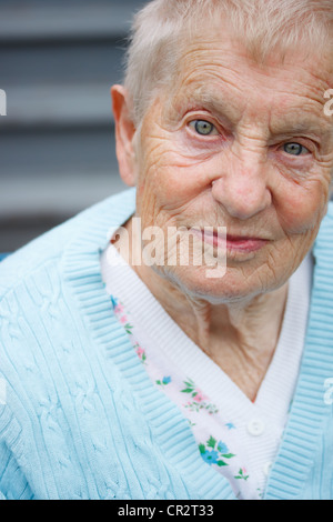 Portrait de femmes aux yeux verts Banque D'Images