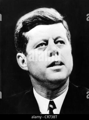 Kennedy, John Fitzgerald, 29.5.1917 - 22.11.1963, politicien américain (Dem.), président des États-Unis 20.1.1961 Banque D'Images