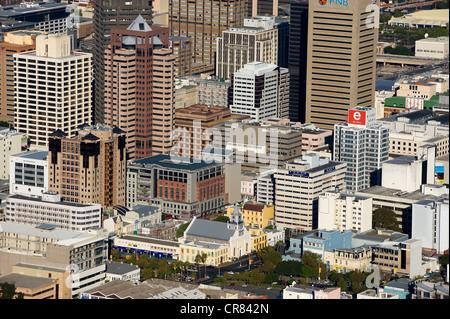 L'Afrique du Sud, Western Cape, Cape Town, le centre-ville Banque D'Images