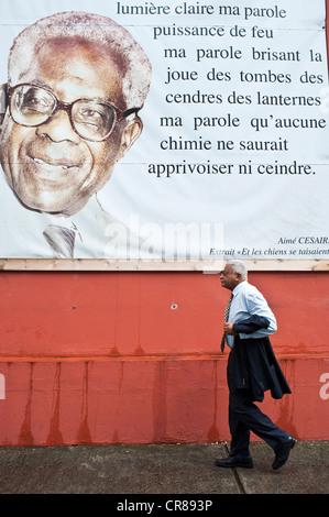 La France, Martinique, Fort-de-France Banque D'Images