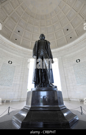 Thomas Jefferson Memorial, Washington DC, District of Columbia, United States of America, USA, PublicGround Banque D'Images