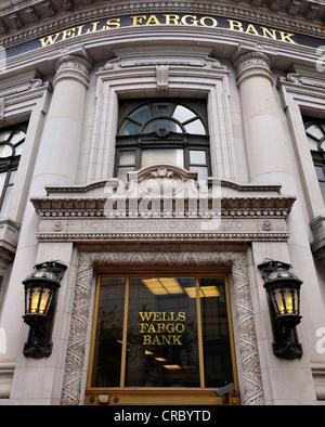 Wells Fargo Bank, Market Street, San Francisco, Californie, États-Unis d'Amérique, USA, PublicGround Banque D'Images