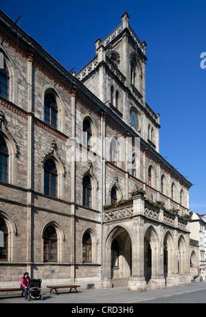 Mairie, Weimar, Thuringe, Allemagne, Europe, PublicGround Banque D'Images