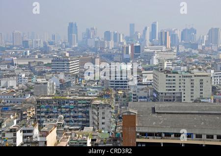 Regardez de l'Grand China Princess Hotel à Chinatown, le quartier indien, la Place Siam, Thaïlande, Bangkok Banque D'Images