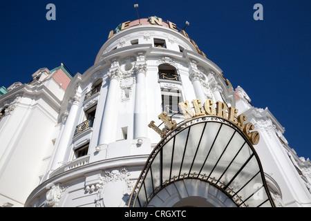 Le Negresco Hotel sur la Place d'Anglais, Nice, Côte d'Azur, France Banque D'Images