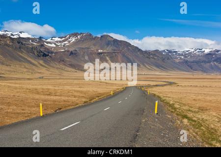 Péninsule de Snæfellsnes à vide, l'Islande de l'Ouest Europe de l'UE Banque D'Images