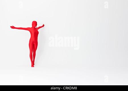 Body femme posant Banque D'Images