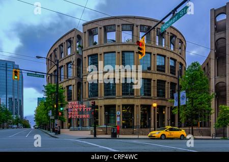 Bibliothèque publique de Vancouver architecte Moshe Safdie Banque D'Images
