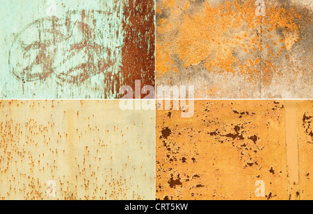 Surfaces métalliques grande comme un arrière-plan Banque D'Images