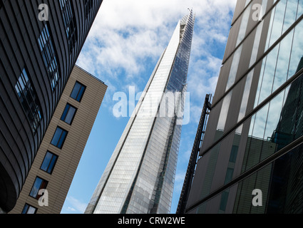 Le shard / Shard London Bridge vu de plus London Place. Southwark, Londres, Angleterre Banque D'Images