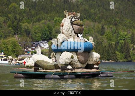 L'Autriche, Styrie, fête des Jonquilles fête au lac Altaussee Banque D'Images