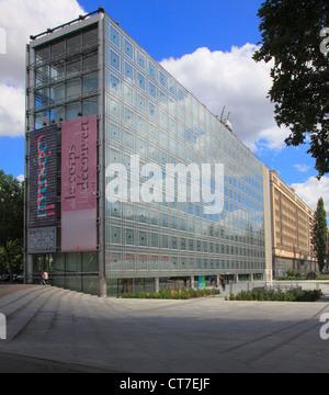 France, Paris, Institut du Monde Arabe, Banque D'Images