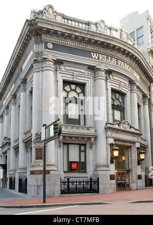 Bâtiment de l'Union Trust Company (Wells Fargo Bank) à San Francisco, Californie, USA. Banque D'Images