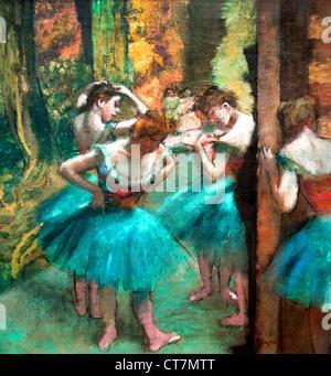 Danseuses bleues - blue Dancers 1890 Edgar Degas 1834-1917 France French