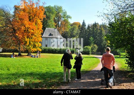 Maison du jardin de Goethe à Weimar, Parc Ilm, Thuringe, Allemagne