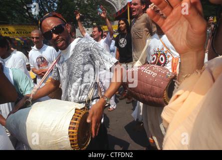 New York, NY - Hare Krishna Fête de la charriots à Washington Square Park