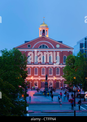 Faneuil Hall, Boston Banque D'Images