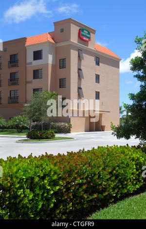 Courtyard by Marriott Stuart Florida Hôtel Motel logement couverture extérieure Banque D'Images
