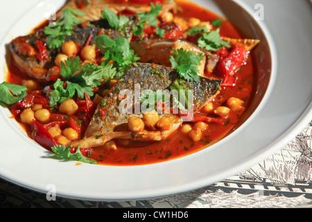 Soupe de poisson - La Bouillabaisse Banque D'Images